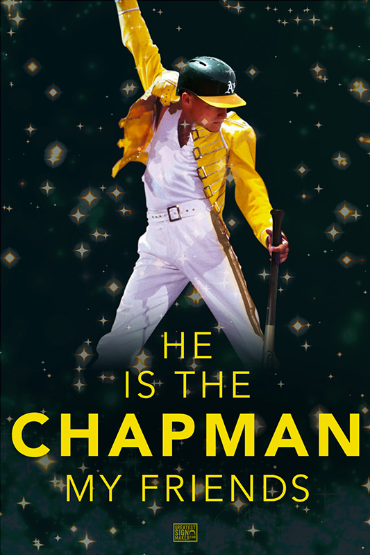 He is the Chapman My Friends